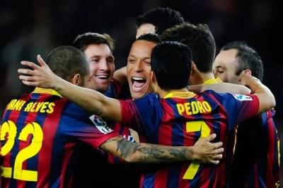 Barcelona vs. Rayo Vallecano 2014