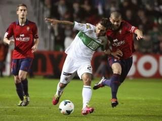 Elche vs. Osasuna 2014