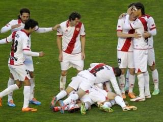Rayo Vallecano vs. Málaga 2014