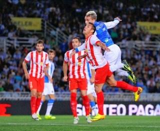 Almería 4-Real Sociedad 3. Jornada 29 Liga Española