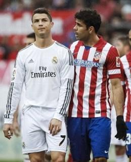 Atlético Madrid 2-Real Madrid 2. Jornada 26 Liga Española