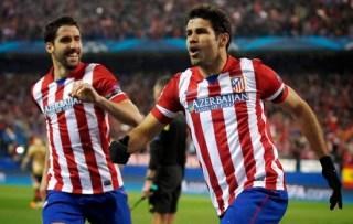 Atlético Madrid 1-Espanyol 0. Jornada 28 Liga Española