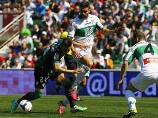 Elche 0-Betis 0. Jornada 28 Liga Española