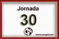 Partidos Jornada 30. Liga Española 2014