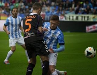 Málaga 1-Valladolid 1. Jornada 26 Liga Española