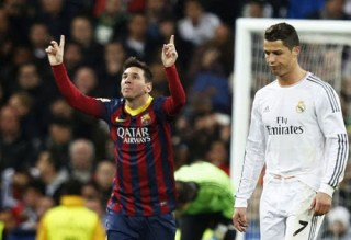 Real Madrid 3-Barcelona 4. Jornada 29 Liga Española madrid barça 2013/14 jornada 29
