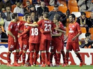 Valencia 1-Getafe 3. Jornada 31 Liga Española