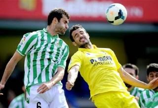 Villarreal 1-Betis 1. Jornada 26 Liga Española