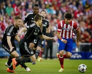 Atlético Madrid 0-Chelsea 0. Champions League