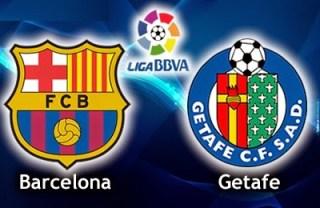 Alineación y la previa Barcelona-Getafe. Jornada 36