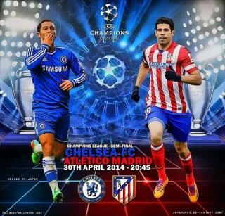 Alineación y la previa Chelsea-Atlético Madrid. Semifinales Champions