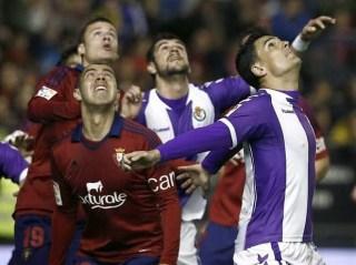 Osasuna 0-Valladolid 0. Jornada 33 Liga Española