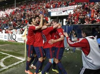 Osasuna 2-Betis 1. Jornada 38 Liga Española