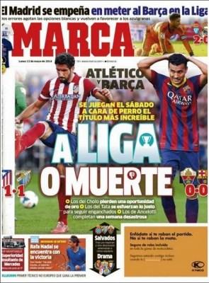 Portada Marca 12/05/2014