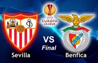 Alineación Sevilla-Benfica. Final Europa League 2014