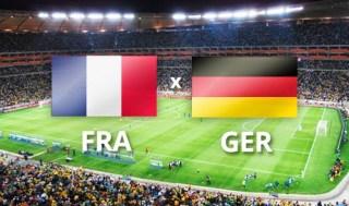 Alineación y la previa Francia-Alemania. Octavos de final