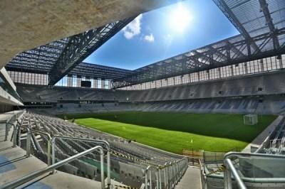 Estadio Arena da Baixada, Curitiba. Sedes del Mundial