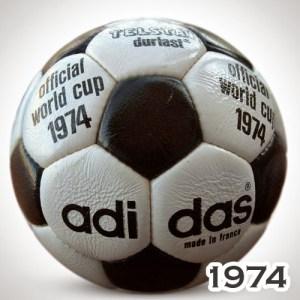 Balón Mundial Alemania 1974 Telstar Durlast