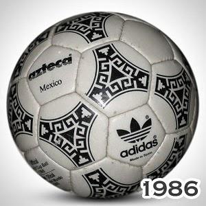Balón Mundial México 1986 Azteca