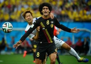 Corea del Sur 0-Bélgica 1. Mundial Brasil-Grupo H corea clasifica para octavos