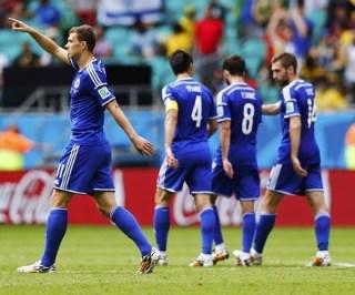 Bosnia 3-Irán 1. Mundial Brasil-Grupo F