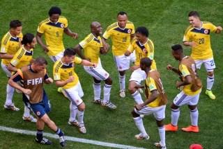 Colombia 2-Costa Marfil 1. Mundial Brasil-Grupo C