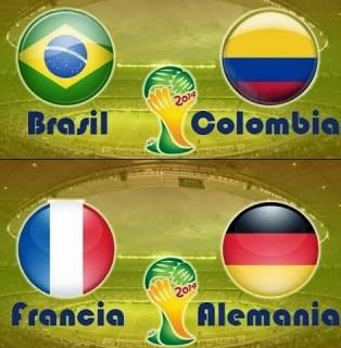 Horarios partidos viernes 4 de julio: Mundial Brasil