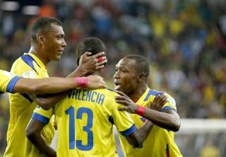 Honduras 1-Ecuador 2. Mundial Brasil-Grupo E