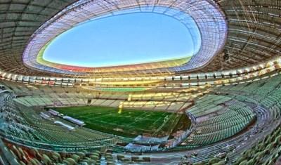 Estadio Castelão, Fortaleza. Sedes del Mundial de Brasil 2014