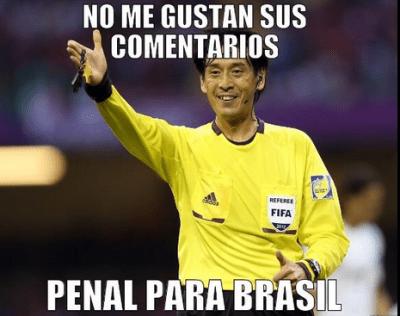 memes chistes y bromas brasil croacia mundial de futbol brasil 2014 cargadas arbitro