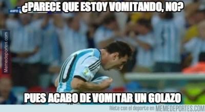 Los mejores chistes y memes de Argentina-Bosnia: Mundial Brasil leo messi