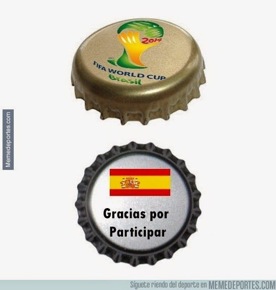 Memes España Chile Mundial 2014