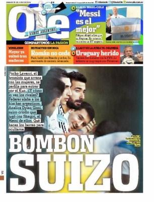 Portada Olé: Octavos de final Mundial Brasil