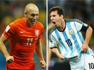 Alineación y la previa Holanda-Argentina. Semifinales