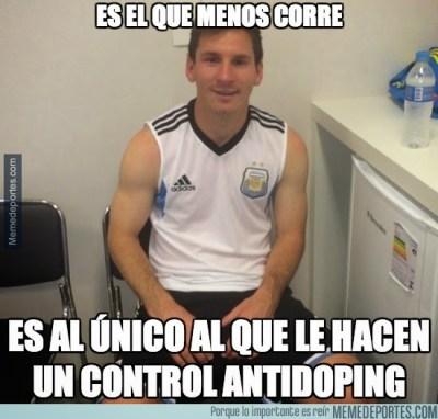 messi antidoping holanda argentina mundial brasil memes