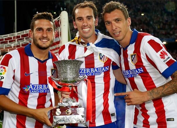 Atlético Madrid Campeón Supercopa de España 2014