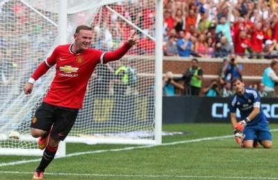 Manchester united 3 real madrid 1 pretemporada