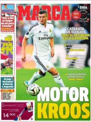 Portada Marca: Toni Kroos