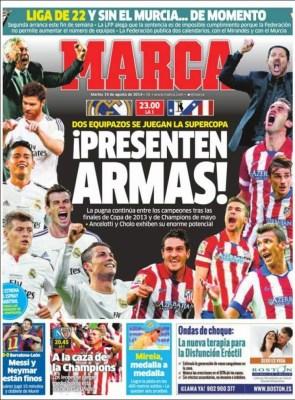 Portada Marca: Supercopa de España 2014