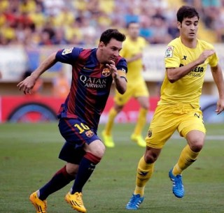 Villarreal 0-Barcelona 1. Jornada 2 Liga Española