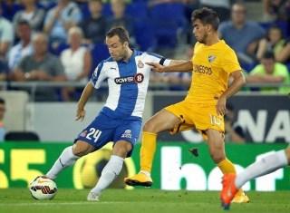 Espanyol 1-Málaga 1. Jornada 4 Liga Española