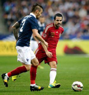 Francia 1-España 0. Amistoso internacional