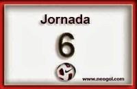 Partidos Jornada 6. Liga Española BBVA 2014