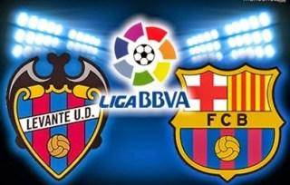 Alineación y la previa Levante-Barcelona. Jornada 4