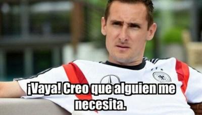 Argentina golea a Alemania: los mejores memes klose