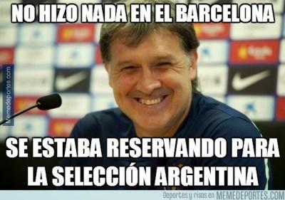 Argentina golea a Alemania: los mejores memes tata martino