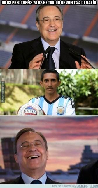 Los mejores memes del derbi Real Madrid-Atlético: Liga Española di maria
