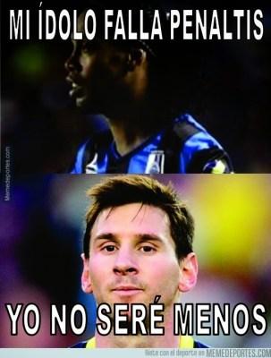 Los mejores memes de la goleada del Barcelona al Levante messi penal