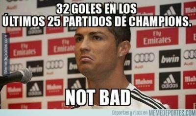 Los mejores memes Real Madrid-Basilea: Champions cristiano ronaldo