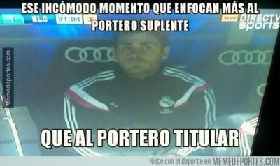 Los mejores memes de la goleada del Real Madrid al Elche casillas